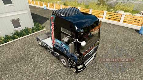 Скин Need For Speed Carbon на тягач MAN для Euro Truck Simulator 2