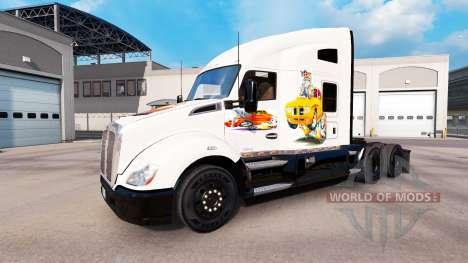 Скин Car art на тягач Kenworth для American Truck Simulator