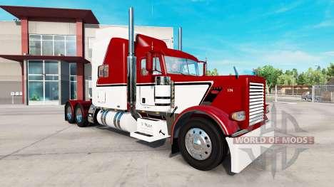 Скин V-Max на тягач Peterbilt 389 для American Truck Simulator