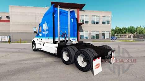 Скин Nationwide на тягач Peterbilt для American Truck Simulator