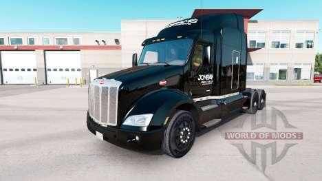 Скин JonBams на тягач Peterbilt для American Truck Simulator