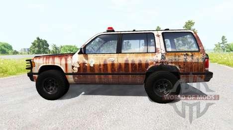 Gavril Roamer Rusted Sheriff для BeamNG Drive