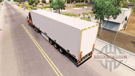 Полуприцеп Schmitz Cargobull для American Truck Simulator