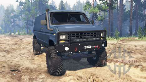 Ford E-350 1990 для Spin Tires