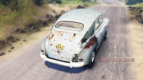 ГАЗ М-72 для Spin Tires