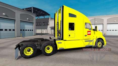 Скин LEGO на тягач Kenworth для American Truck Simulator
