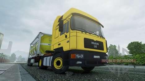MAN F2000 v2.0 для Euro Truck Simulator 2
