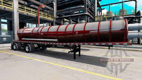 Сборник 60 скинов на полуприцепы для American Truck Simulator
