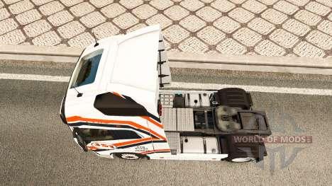 Скин JST Services на тягач Volvo для Euro Truck Simulator 2