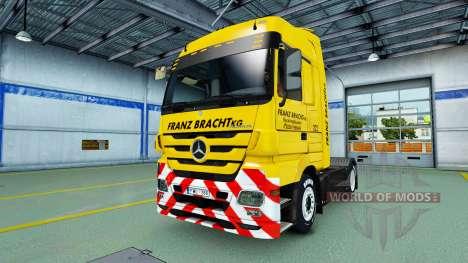 Скин Franz Bracht на тягачи для Euro Truck Simulator 2