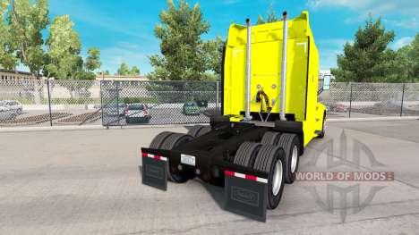 Скин Central Transport на тягач Peterbilt для American Truck Simulator