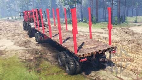 Oshkosh M1070 HET для Spin Tires