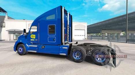 Скин Best Buy на тягач Kenworth для American Truck Simulator