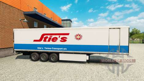 Скин Sties на полуприцеп для Euro Truck Simulator 2