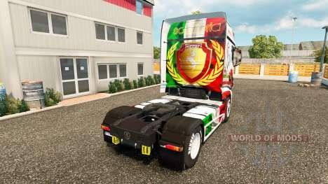 Скин Ferrari на тягач Scania R700 для Euro Truck Simulator 2