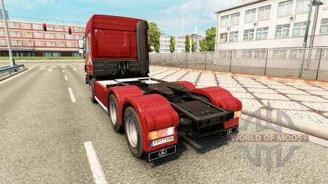 Mercedes-Benz Actros MP3 v2.0 для Euro Truck Simulator 2