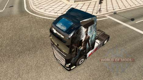 Скин Wolverine на тягач Volvo для Euro Truck Simulator 2