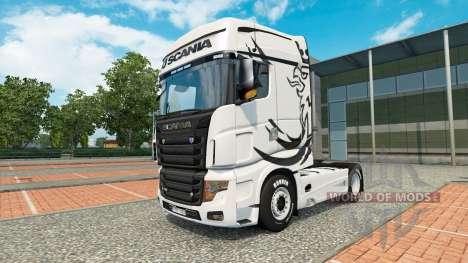 Сборник скинов на тягач Scania R700 для Euro Truck Simulator 2