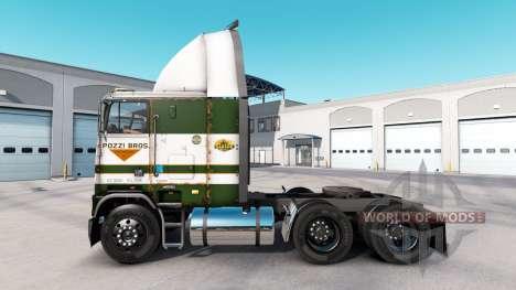 Скин POZZi на тягач Freightliner FLB для American Truck Simulator