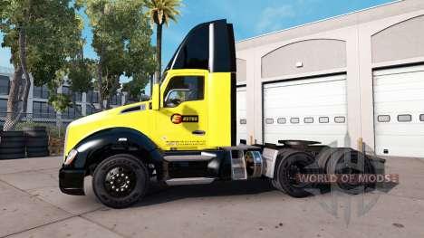 Скин Estes на тягач Kenworth для American Truck Simulator