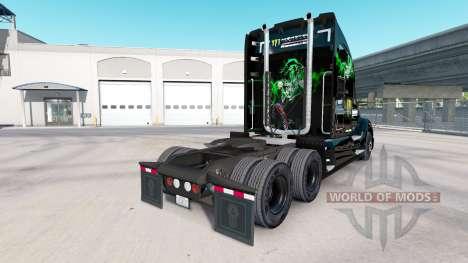 Скин Kawasaki Racing Team на тягач Kenworth для American Truck Simulator