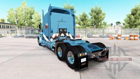 Скин 2Tone на тягач Peterbilt 389 для American Truck Simulator