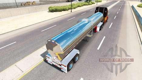 Полуприцеп молоковоз для American Truck Simulator