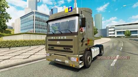 Pegaso Troner TX 400 v2.1 для Euro Truck Simulator 2