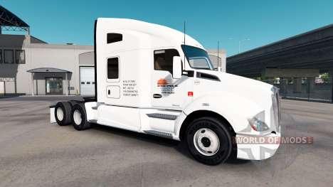 Скин Daybreak на тягачи Peterbilt и Kenwort для American Truck Simulator