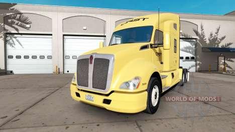 Скин CRST на тягач Kenworth для American Truck Simulator