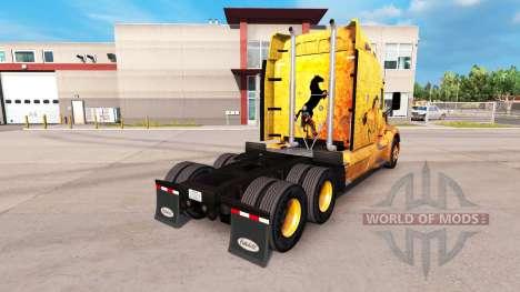 Скин Western на тягач Peterbilt для American Truck Simulator