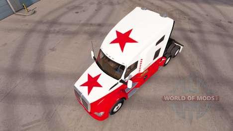 Скин California Republic на тягач Kenworth для American Truck Simulator