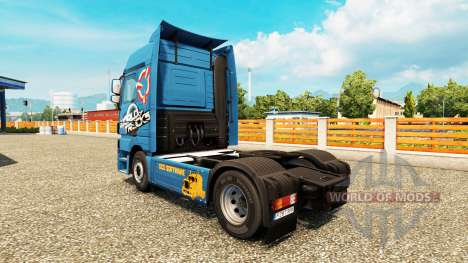 Скин World Of Trucks на тягачи для Euro Truck Simulator 2