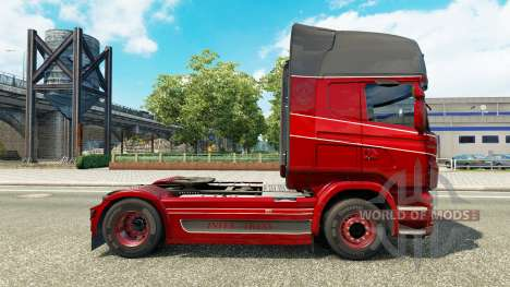 Скин Inter-Trans на тягач Scania для Euro Truck Simulator 2
