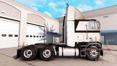 Скин Metallic Gray на тягач Freightliner FLB для American Truck Simulator