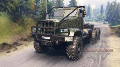 КрАЗ-214 для Spin Tires