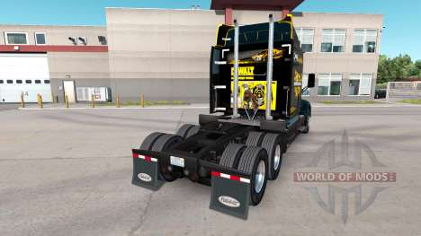 Скин DeWalt на тягач Peterbilt для American Truck Simulator