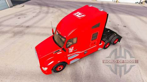 Скин Transco Lines на тягачи Peterbilt и Kenwort для American Truck Simulator