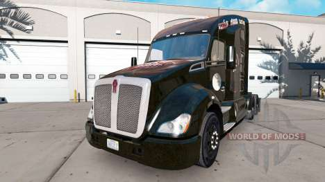 Скин FC Bayern Munchen на тягач Kenworth для American Truck Simulator
