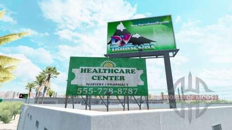 Реклама на билборды для American Truck Simulator