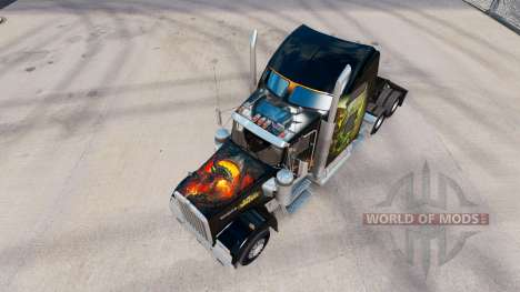 Скин World of Warcraft на тягач Kenworth W900 для American Truck Simulator