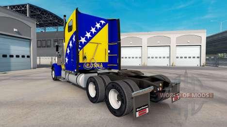 Скин Bosnia на тягач Freightliner Classic XL для American Truck Simulator