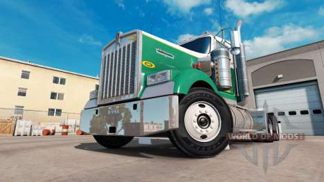 Скин OHare Towing на тягачи Peterbilt и Kenwort для American Truck Simulator