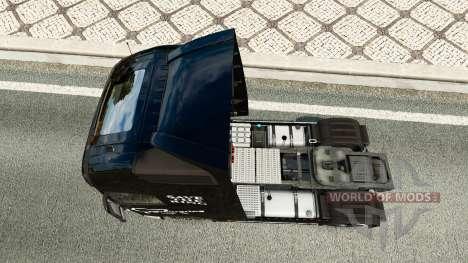 Скин Save the Ring на тягач Volvo для Euro Truck Simulator 2