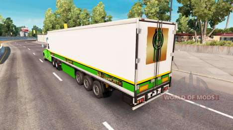 Скин Gold Edition на тягач Kenworth для American Truck Simulator