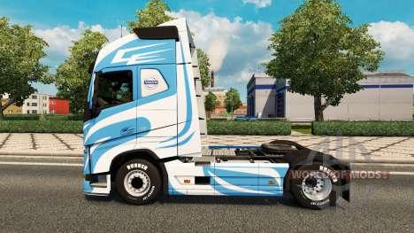 Скин LB Design на тягач Volvo для Euro Truck Simulator 2