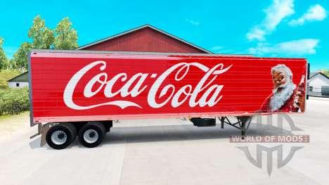 Международные скины на полуприцепы для American Truck Simulator