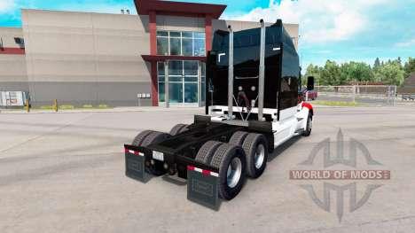 Скин Netstoc Logistica на тягач Peterbilt для American Truck Simulator