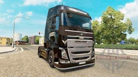 Скин Alter Bridge на тягач Volvo для Euro Truck Simulator 2