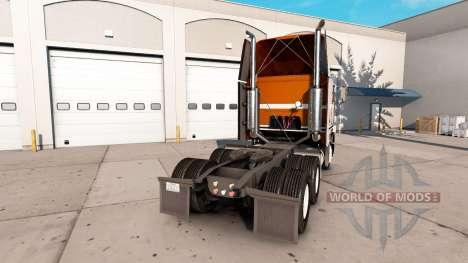 Скин Pure Vintage на тягач Freightliner FLB для American Truck Simulator